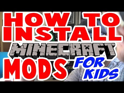 How To Install Minecraft Mods For Kids Pc Windows