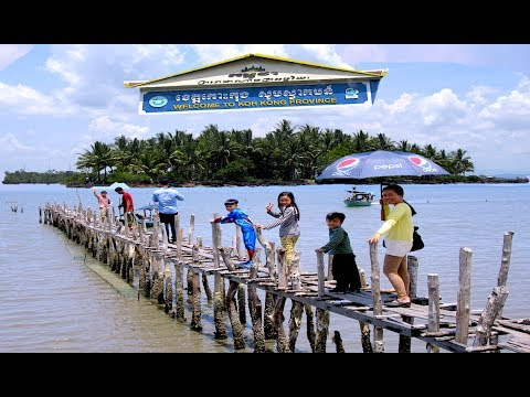 Travel from Ream Sihanoukville to Sre Ambel in Koh Kong Province | Fishing Village in Cambodia