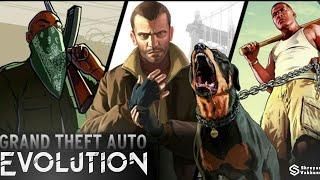 Evolution Of GTA Games | 1997-2013 | Shreyas Vakkund