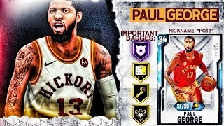 DIAMOND PAUL GEORGE GAMEPLAY! THE BEST SMALL FORWARD IN NBA 2k20 MyTEAM