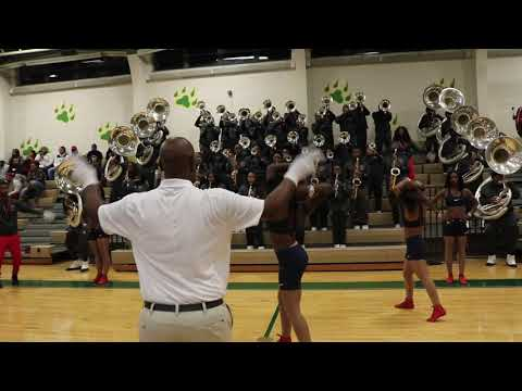 """Lane College \""""Quiet Storm MarchingBand"""