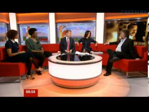 Angel Coulby on BBC Breakfast