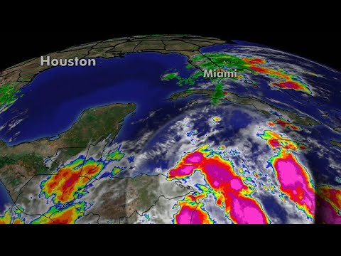 Tropical storm Nate strengthening as it heads towards Gulf Coast