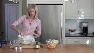 Bourbon Peach Bread Pudding