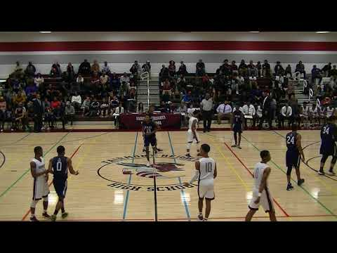 Fairmont Heights vs LaPlata (Boy's) 5 Dec 17 1st Quarter