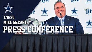 Cowboys Introduce Mike McCarthy as Head Coach