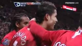 Cristiano Ronaldo Free kick Vs Newcastle United