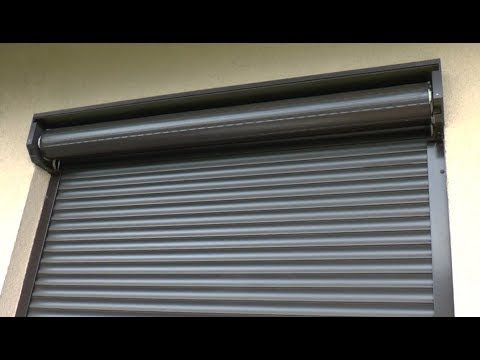 How to repair external roller blind - broken hanger