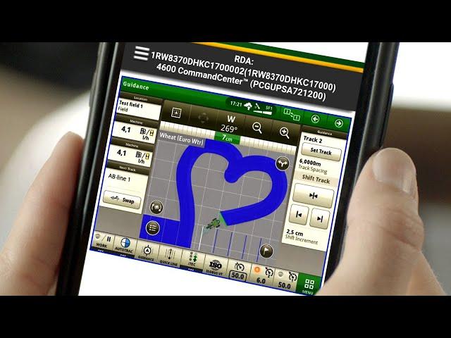 MyOperations App mit Fernzugriff  I John Deere DE