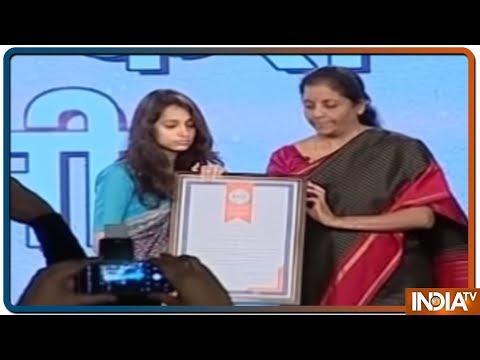 Pulwama Martyr Maj Vibhuti Dhoundiyal's Wife Nikita Kaul Speaks At India Tv Vande Mataram Conclave
