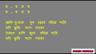 Ami dukkho ke sukh bhebe - kishore kumar bangla karaoke