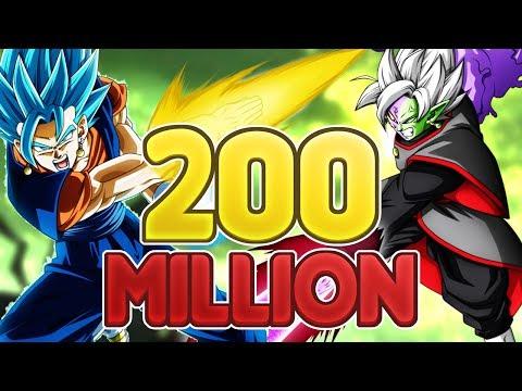 100+ TICKET MULTISUMMONS! 200M DOKKAN FESTIVAL BANNER! Dragon Ball Z Dokkan Battle