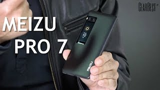 Meizu Pro 7 with Awesome Back Display! - GearBest