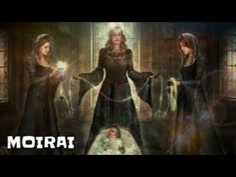 Moirai , Tiga Dewi Takdir  Mitologi Yunani