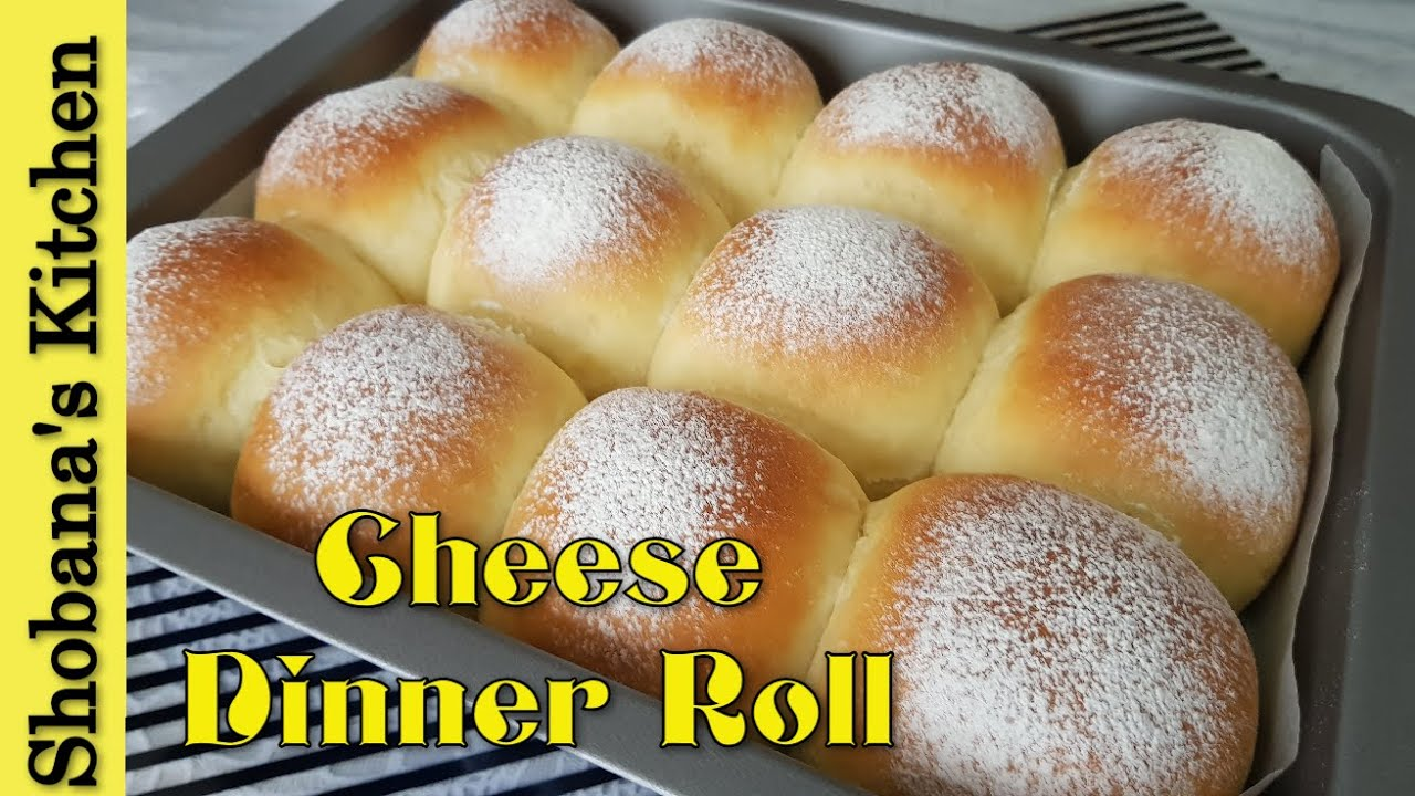 Soft Fluffy Cream Cheese Dinner Rolls Cream Cheese Bun Dinner Rolls Recipe Shobanas Kitchen Youtube