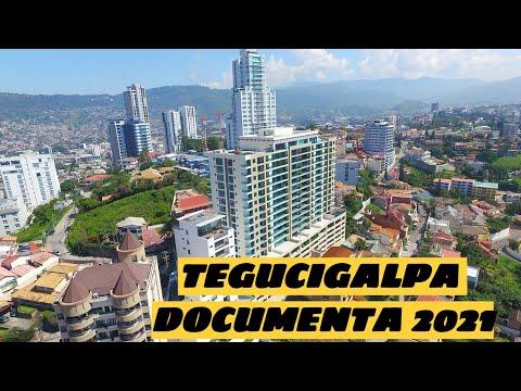 Tegucigalpa, Honduras, de día y de noche 2021 documental