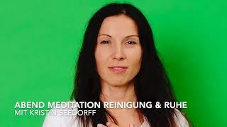 5 min Meditation Reinigung & Ruhe am Abend, Geführte Meditation, Komme bei dir an, Entspannung