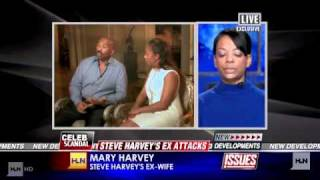 STEVE HARVEY'S RESPONSE TO EX WIFE RANT (UPDATE)