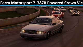 787B Powered Crown Vic Race Build - Forza Motorsport 7