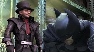 Batman Arkham Origins: Mad Hatter Boss Fight (4K 60fps)