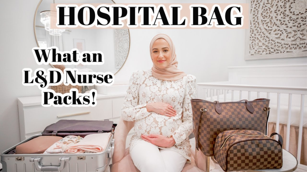 What a Labor Nurse Packs in Her Hospital Bag!   What's In My Hospital Bag!