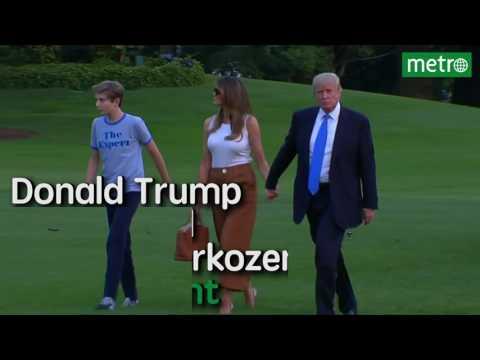 Melania Trump verkast naar Witte Huis