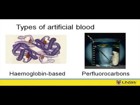 Justifying research for artificial blood.mov