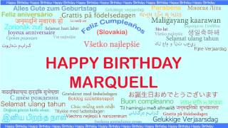 Marquell   Languages Idiomas - Happy Birthday