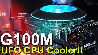 UFO Shaped CPU Cooler! -- Cooler Master MasterAir G100M