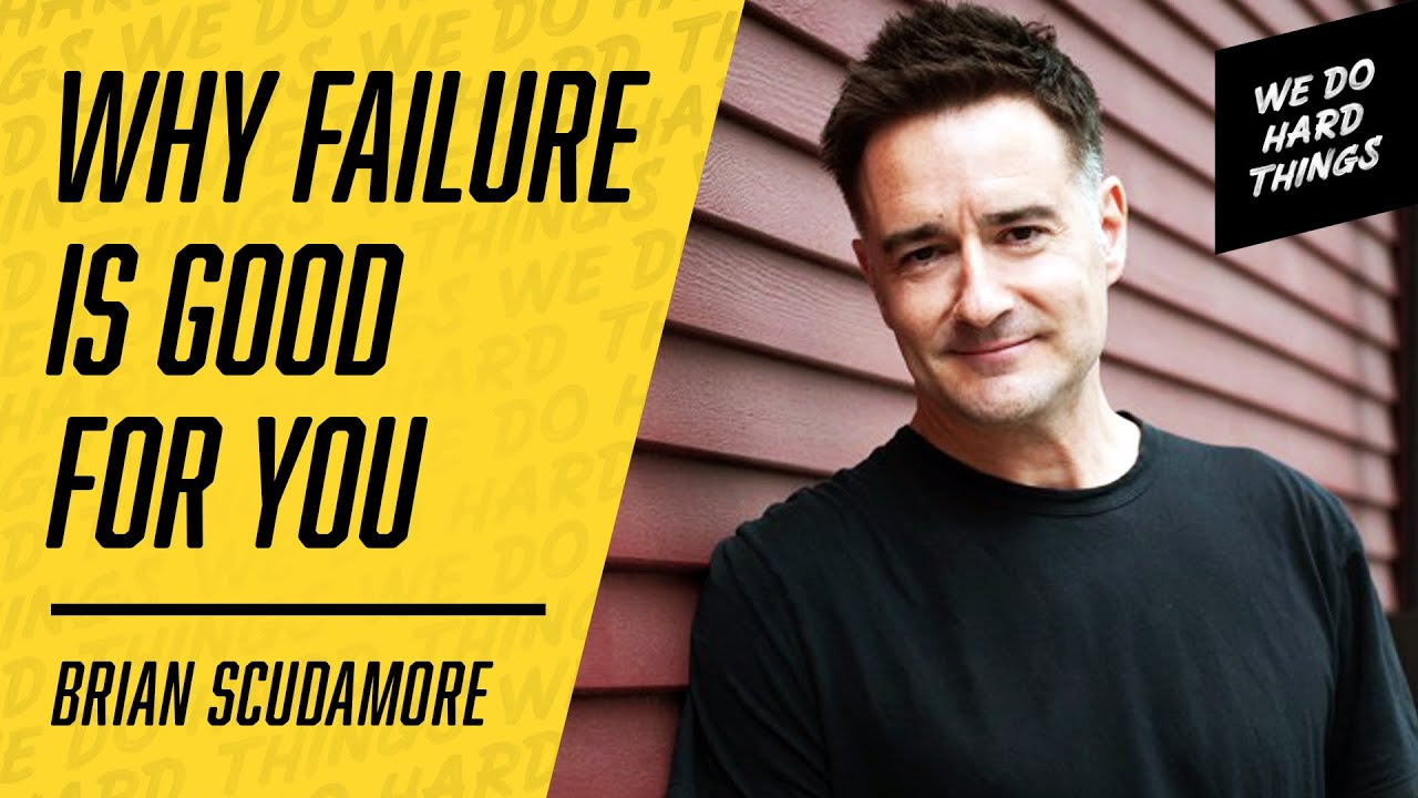 Keep going! Your failures don't define you! | Brian Scudamore on the We Do Hard Things Podcast