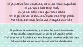 Zaz Si Je Perds Con Letra Espanol Frances