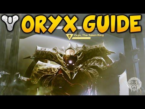Destiny Kings Fall Raid: ORYX TUTORIAL! How To Defeat Oryx Final Raid Boss Guide