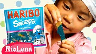 スマーフのグミ ♥ Smurf Gummi