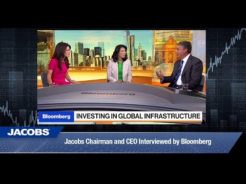 Jacobs Chairman & CEO Steve Demetriou Interviewed By Bloomberg - 8th August 2017