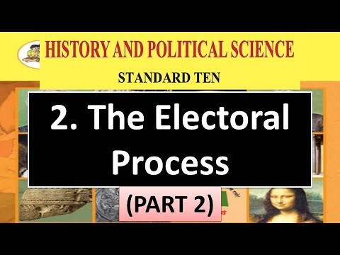 Electoral Process - 10th Maharashtra State Board Political Science Videos | 10th State Videos