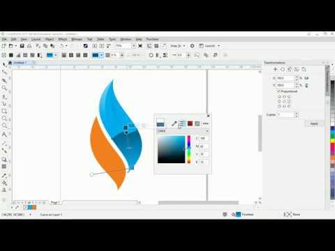 Belajar membuat logo di Coreldraw