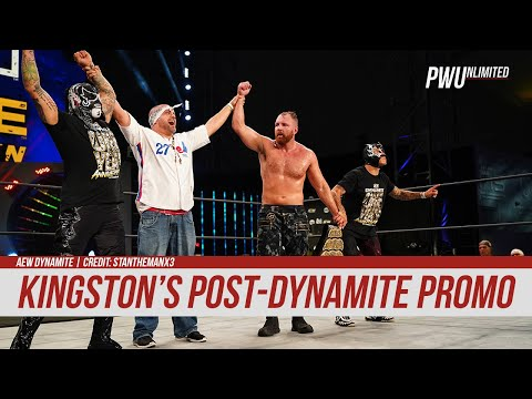 WATCH: Eddie Kingston's Post-Dynamite Promo On Jon Moxley