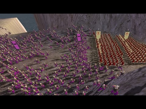 BATTLE OF THERMOPYLAE - ROME: Total War