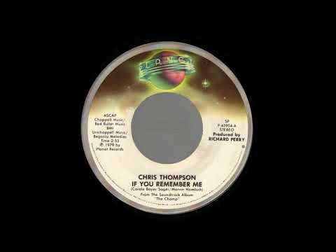 1979_121 - Chris Thompson - If You Remember Me - (45)
