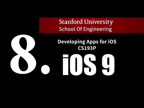 Stanford iOS 9 - Lecture 8.  Multithreading and Text Field