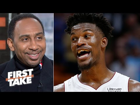 Stephen A. hasn't been this excited about the Heat since LeBron left | First Take
