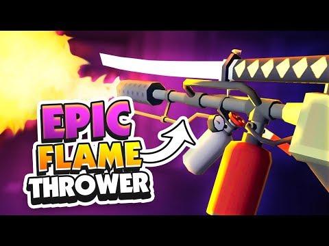 FLAMETHROWER + LONG SWORD! - Undead Development Gameplay - VR HTC Vive Gameplay