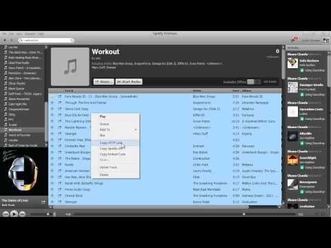 Video Showing How to Randomize Spotify Tracks in Playlist