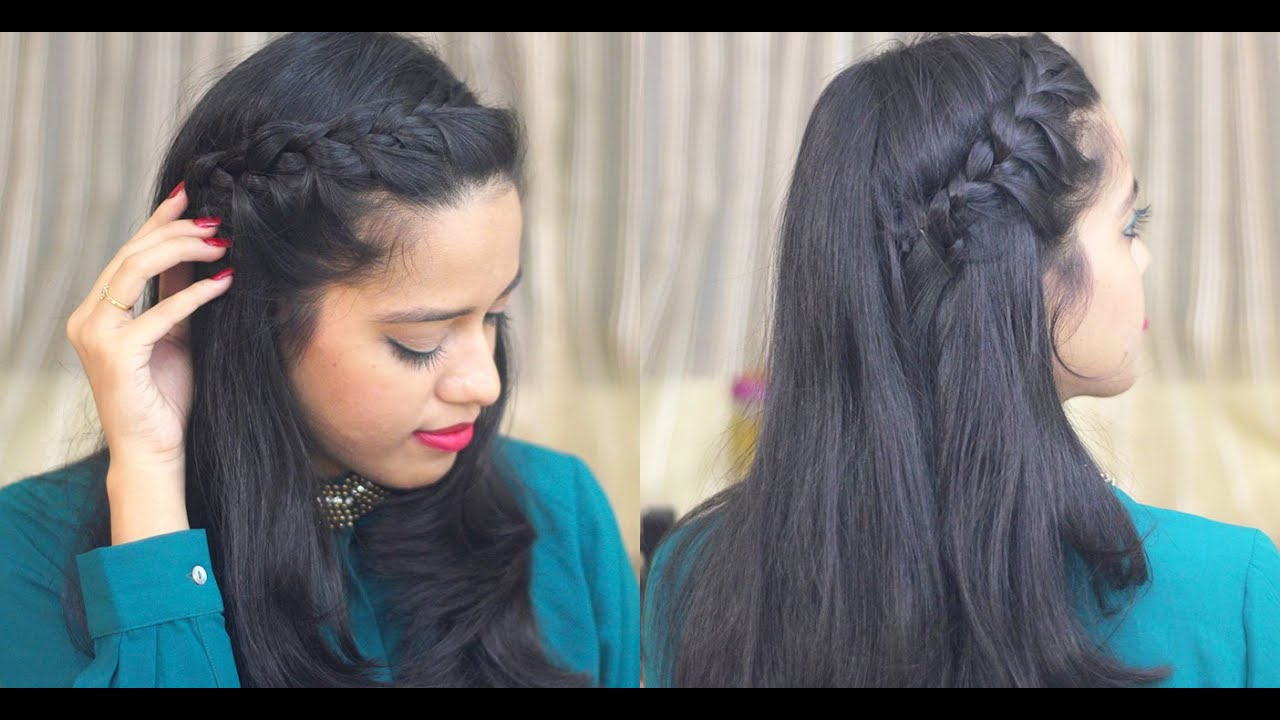 easy hairstyle for work/college
