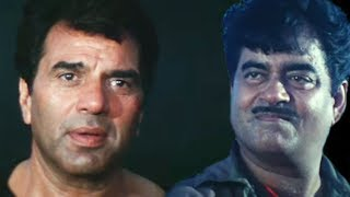 Fight between Dharmendra and Shatrughan