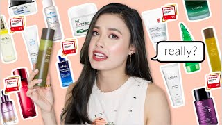 "Reviewing 21 Overhyped ""Glow Pick"" Award-Winning Korean Skincare Products"