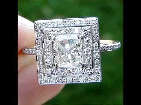 Vintage Estate Diamond Engagement Wedding Ring Circa 1950 eBay Auction