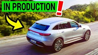 Electric SUV from Mercedes-Benz is in Production | EQC 400