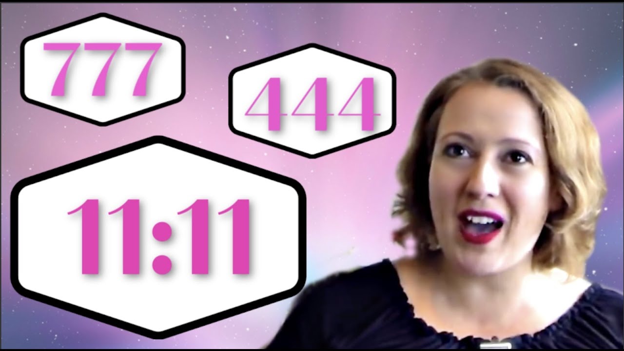 Angel Signs: Repeating Numbers 11:11, 444, 777 and More! - YouTube