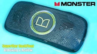 Monster SuperStar BackFloat Unboxing & Review | The FLOATING Bluetooth Speaker!!